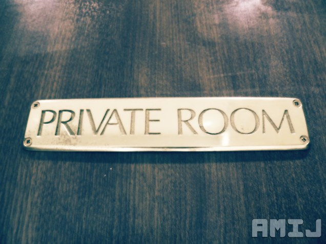 private-room-sign